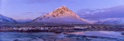 Alpenglow On the Buachaille