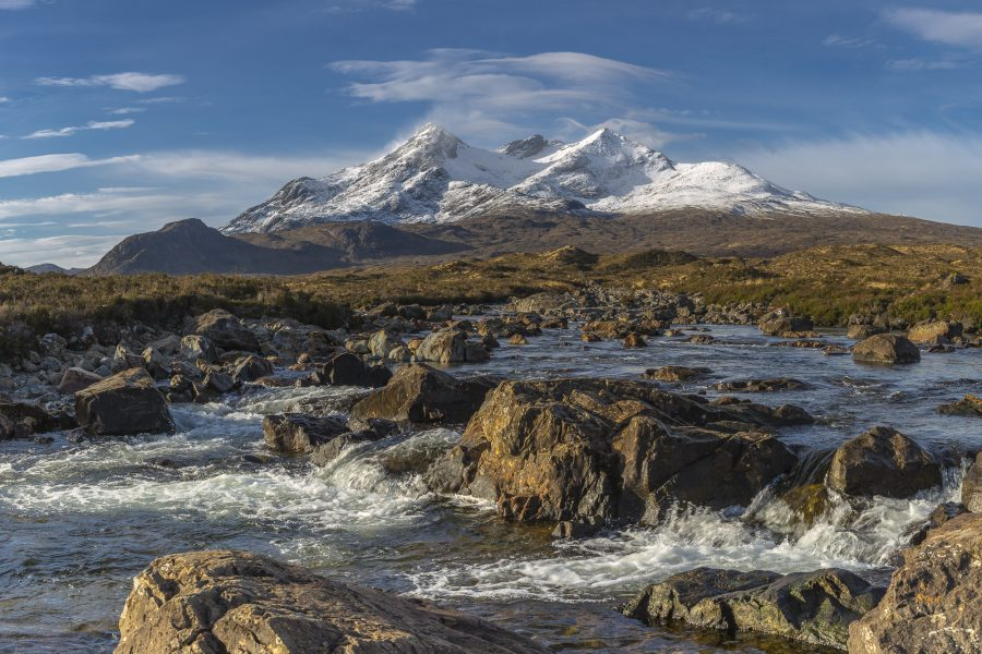 Spring Snow on the Cuillins