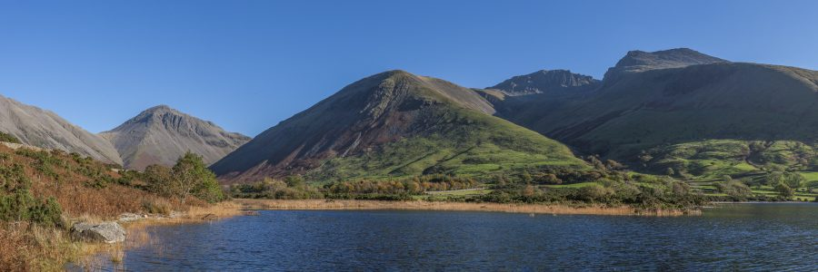 Great Gable and The Scafells