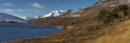 Loch Cluanie and the Kintail Brothers