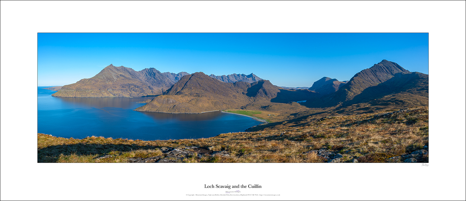 Loch Scavaig and The Cuillin