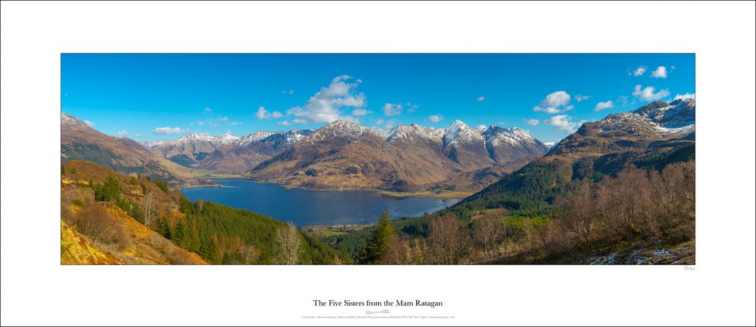 The Five Sisters from the Mam Ratagan